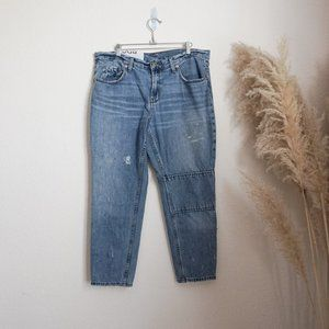 BDG slim boyfriend low rise distressed jeans
